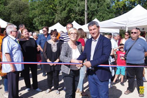 Inauguration parc de Nature et de loisirs
